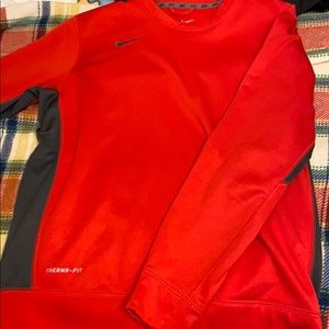 Red therma fit sweater